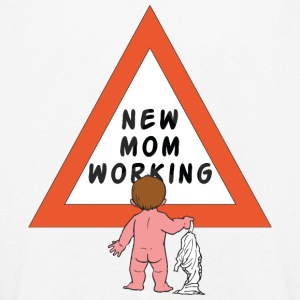New Mom Changing Diapers - Kids' Premium Longsleeve Shirt