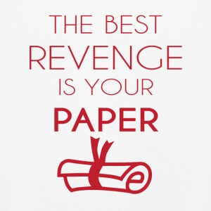 High School / Graduation: The Best Revenge Is Your - Kids' Premium Longsleeve Shirt