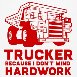 Trucker / LKW-Fahrer: Trucker because i don´t mind - Kinder Premium Langarmshirt