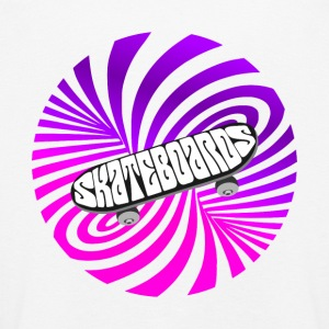 skate illusion optical Art Skateboard Vintage half - Kinder Premium Langarmshirt
