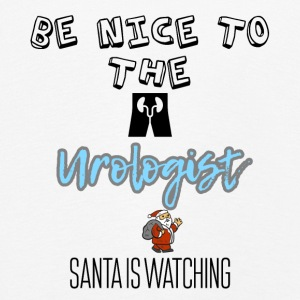Be nice to the urologist Santa is watching you - Kids' Premium Longsleeve Shirt
