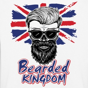 UK beard - Kinder Premium Langarmshirt