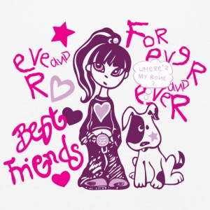 Best Friends Forever BFF - Premium langermet T-skjorte for barn