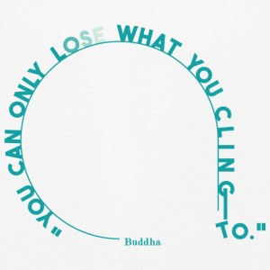 you can only lose what you cling to. (light blue) - Kids' Premium Longsleeve Shirt