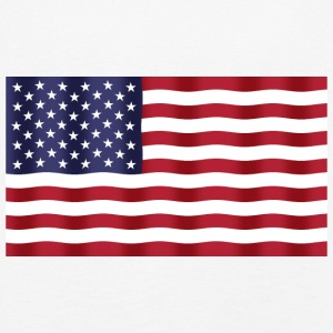 USA Flag - Premium langermet T-skjorte for barn