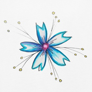 The Flower of the Fairies - Kids' Premium Longsleeve Shirt