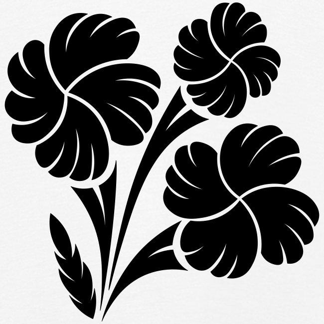 trio fleuri