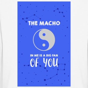 The Macho in me - Kids' Premium Longsleeve Shirt