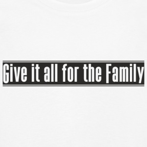 Give_it_all_for_the_Family ontwerp - Kinderen Premium shirt met lange mouwen