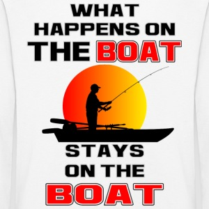 What Happens on the Boat - Kids' Premium Longsleeve Shirt