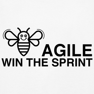 BE AGILE WIN THE SPRINT - Kinder Premium Langarmshirt