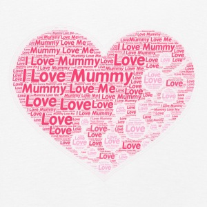 I Love Mummy - Premium langermet T-skjorte for barn