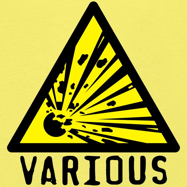 VariousExplosions Triangle (2 colour)