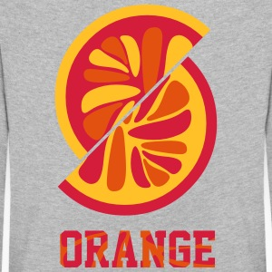 Naranja Orange - Camiseta de manga larga premium niño