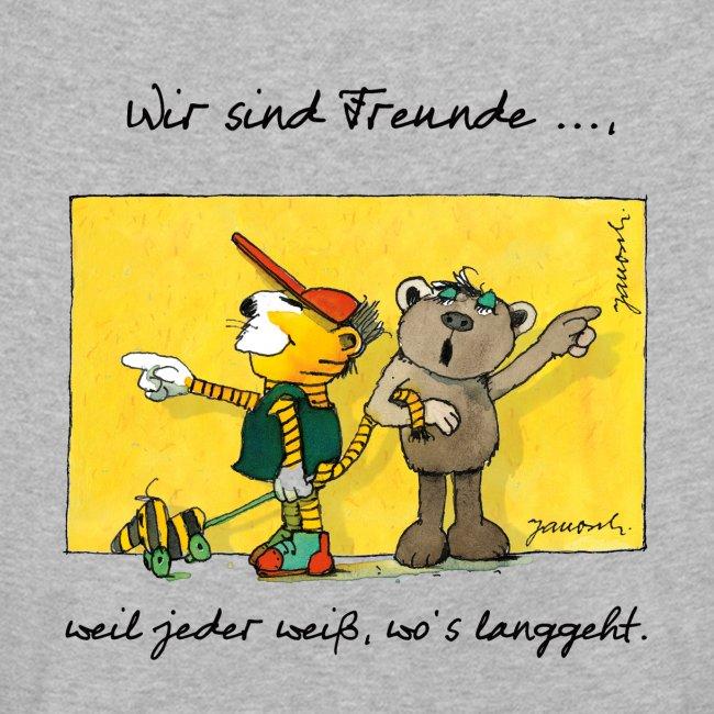 Janoschs 'Wir sind Freunde, weil jeder weiß ...'