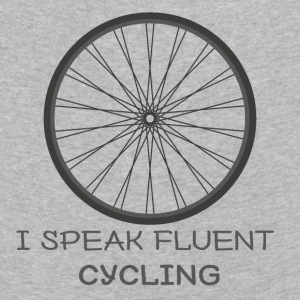 Fahrrad: I speak fluent cycling - Kinder Premium Langarmshirt
