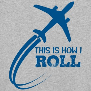 Pilot: This is how i roll - Kids' Premium Longsleeve Shirt