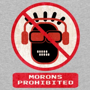 Morons prohibited - Kids' Premium Longsleeve Shirt