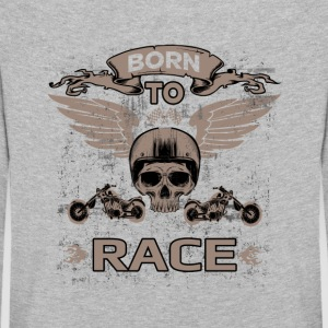 BORN TO RACE! - Kids' Premium Longsleeve Shirt