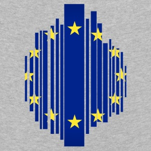 European Union EU grid flag - Kids' Premium Longsleeve Shirt