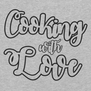 Koch / Chefkoch: Cooking With Love - Kinder Premium Langarmshirt