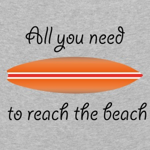 REACH THE BEACH - Kids' Premium Longsleeve Shirt