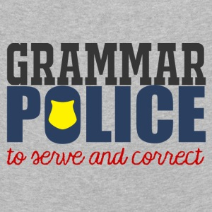 Police: Grammar Police to serve and correct - Kids' Premium Longsleeve Shirt