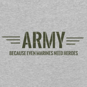 Military / Soldiers: Army - Because Even Marines - Kids' Premium Longsleeve Shirt