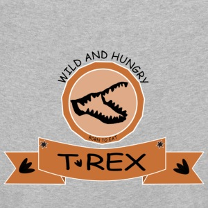 T REX WILD AND HUNGRY - Kinder Premium Langarmshirt