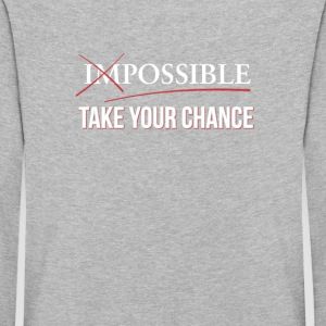 Impossible Possible - Use your chance - Kids' Premium Longsleeve Shirt