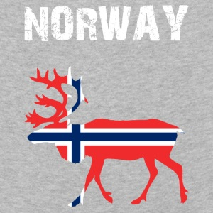 Nation-Design Norway Reindeer - Kinder Premium Langarmshirt