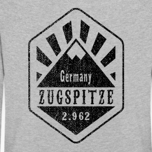 Zugspitze Allemagne - Used Look - T-shirt manches longues Premium Enfant