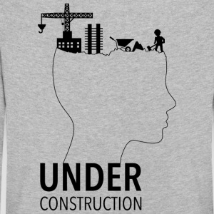 Brain Under Construction | Adolescence - Kinder Premium Langarmshirt