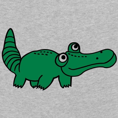 Krokodil - Kinder Premium Langarmshirt