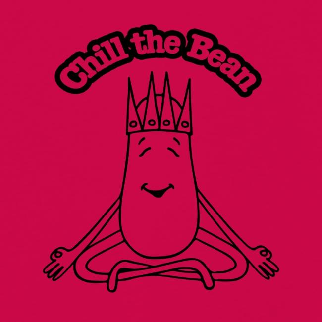 Chill the Bean black outline