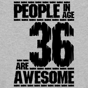 PEOPLE IN AGE 36 ARE AWESOME - Kids' Premium Longsleeve Shirt