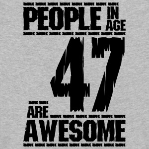 PEOPLE IN AGE 47 ARE AWESOME - Kids' Premium Longsleeve Shirt