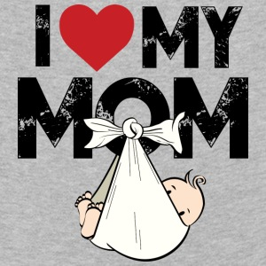 I Love my Mom - Kids' Premium Longsleeve Shirt