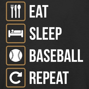 Eat Sleep Baseball Softball Repeat - Kids' Premium Longsleeve Shirt