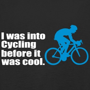 I was into Cycling before it was cool - fahrrad - Kinder Premium Langarmshirt