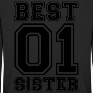 Best Sister - Premium langermet T-skjorte for barn