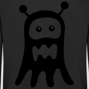 Ghost Monster - T-shirt manches longues Premium Enfant