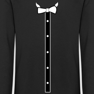 Bow tie and buttons - Kids' Premium Longsleeve Shirt