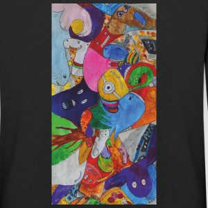 Different figures in a pile - Kids' Premium Longsleeve Shirt