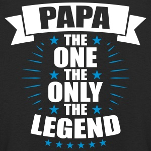 Papa The One The Only The Legend vatertag - Kinder Premium Langarmshirt