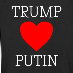 TRUMP LOVES PUTIN - Kids' Premium Longsleeve Shirt