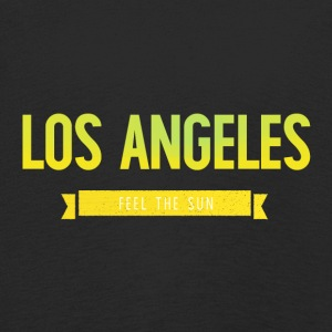 Typografi LOS ANGELES FEEL THE SUN - Premium langermet T-skjorte for barn