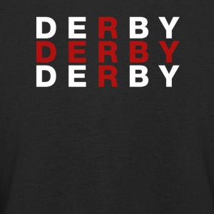 Derby United Kingdom Flag Shirt - Derby T-Shirt - Långärmad premium-T-shirt barn