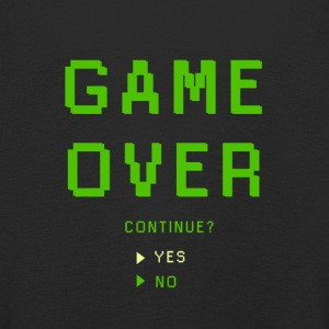 Game Over. Continue? YES - NO - Kinder Premium Langarmshirt