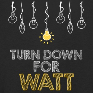 Electricians: Turn down for watt - Kids' Premium Longsleeve Shirt
